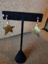 Star shaped metal earrings in Camp Pendleton, California