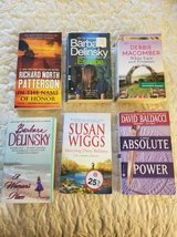 Assorted paperbacks all for $3 or $1 each in Camp Pendleton, California