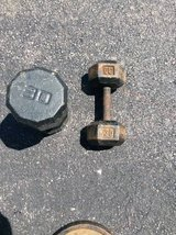 Miscellaneous dumbbells / delivery available in Sandwich, Illinois