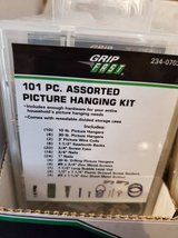 101-Piece Picture Hanging Kits - Brand New - $2 each!! Cheap!! in Chicago, Illinois