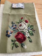 """Hiawatha Heirloom Needlepoint 23x24"""" done with virgin wool. good for pillows or chairs in Fort Belvoir, Virginia"""
