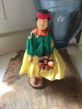 South American Carved Wooden Doll, 9 inches tall in Quantico, Virginia