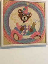 **Nursery Needlepoint** Framed and Ready For Babys Room in Quantico, Virginia