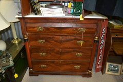 Victorian Marble Top Chest of Drawers in Camp Lejeune, North Carolina