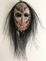 Vintage Mask Made of Turtle Shell with Clay Inside. From Papua, New Guinea in Fort Belvoir, Virginia