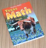 NEW Houghton Mifflin Texas Math Unit 9 Geometry n Fractions 548 Page Workbook in Yorkville, Illinois