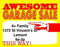 LEMONT - MONSTER 6+ FAM GARAGE / YARD SALE - Please wear a Mask! in Naperville, Illinois