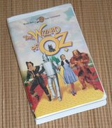 Vintage 1999 The Wizard of Oz VHS Clam Shell Case Judy Garland in Morris, Illinois