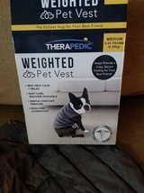 Therapedic new in box weighted pet vest in Vista, California