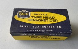 Vintage Tape head demagnizer in Batavia, Illinois