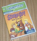 NEW LeapFrog Leapster Leapster2 Scooby Doo Math Times Too K-2nd Grade 5-8 YO in Yorkville, Illinois