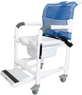 Deluxe Rolling Shower Chair - New! in Chicago, Illinois