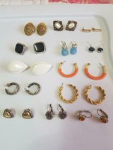 13 pairs Mixed lot of pierced earrings!  Signed Napier & Rosa Craft Plus some Unsigned! in Spring, Texas