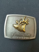 Vintage Remington Country Bugling Elk Belt Buckle! 1986 Sid Bell USA Hunting. in Bellaire, Texas