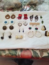 Mixed Lot of 14 Pairs of Pierced Earrings! Multi- Colors Hoop, Drop, Dangle, and Stud in Spring, Texas