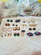 Mixed Lot of 16 Pairs of Pierced Earrings! Hoop, Drop, Dangle, and Stud styles. in Spring, Texas