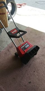Toro Power Curve snow thrower in Chicago, Illinois