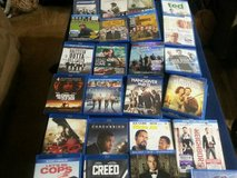 27 Blu-Ray Movies (Some Still Factory Sealed) in Cleveland, Texas