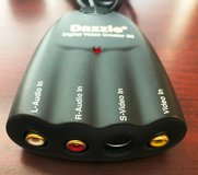 DAZZLE - DVC-80 Digital Video Creator 80 Video Capture Device RCA USB Cable in Glendale Heights, Illinois