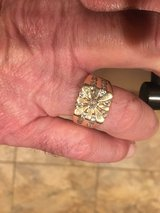CHRISTMAS IS COMING!!!  Gentleman's 14k Gold 1.25 Carat Diamond Starburst Ring (Free Shipping) in Fort Belvoir, Virginia