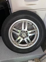 Granite Alloy 17 inch wheels and tires in Plainfield, Illinois