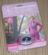 NEW Gaiam Walking Fit Kit PINK Walking Pedometer w CD for Beginner Debbie Rocker in Plainfield, Illinois