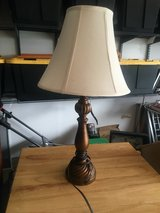"Wooden Look Table Lamp 25"" Tall with 13"" Wide Shade in Fort Belvoir, Virginia"
