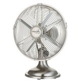 "MinkaAire Retro Style Oscillating Fan 10"" 4 Blade in Brushed Nickel NIB in Quantico, Virginia"