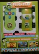 new pbs kids plug & play bluetooth wi-fi interactive toy and tv experience in Fort Bliss, Texas