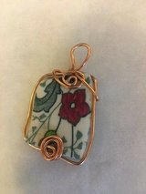 ceramic pendant surrounded by copper wire in Fort Belvoir, Virginia
