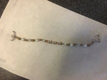 """""""Sterling Silver 'MOM'"""" Bracelet with Beads in Quantico, Virginia"""