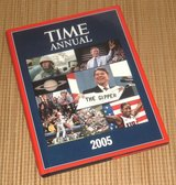 Time Annual 2005 Hard Cover Book w Dust Jacket Time Life Books Time Magazine in Joliet, Illinois
