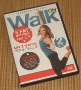 Walk On 10,000 Steps Weight Loss 5 Fat Burning Miles Indoor Walking Exercise DVD in Morris, Illinois
