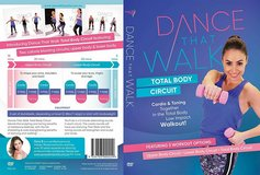 Dance That Walk DVD Total Body Circuit Cardio Toning in a Low Impact Walk Workout in Morris, Illinois