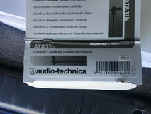 Audio-Technica AT831b Cardioid Condenser Lavalier Microphone in Fort Belvoir, Virginia