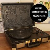 Crosley Urban Outfitters black record player in Plainfield, Illinois