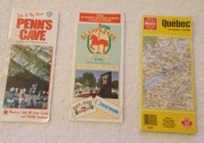 vintage quebec 95/96 map in Clarksville, Tennessee