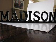 "Wood ""Madison"" Sign in Schaumburg, Illinois"