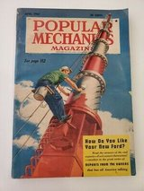Popular Mechanics Magazine April 1951. TV's STEEPLEJACKS featured on cover! L@@K in Brookfield, Wisconsin