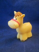 Fisher Price Little People FPLP Horse, Baby in Basket, Hawaiian in Batavia, Illinois
