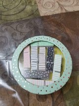 """New Box of 8 Decorative 2"""" Wood Stationary Pins / Clips! in Bellaire, Texas"""