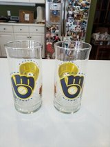 """""""2"""" Authentic 1980's MILWAUKEE BREWERS Scrub-a-Dub Car Wash Promo Glasses L@@K!! in Brookfield, Wisconsin"""