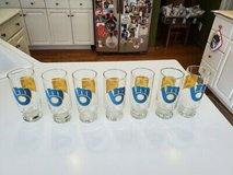 "Vintage Authentic Promo 1980's MILWAUKEE BREWERS Channel 4 TMJ4 Glasses Qty ""7"" in Brookfield, Wisconsin"