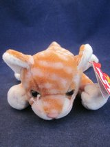 TY Beanie Babies Cat Collection VINTAGE NEW with TAG in Naperville, Illinois