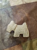 """Vintage Ladies' Rhinestone Dog Belt Buckle! 4"""" x 2  Very Shine and Sparkly! in Bellaire, Texas"""