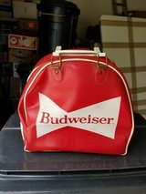 Ultra Rare Authentic Vintage BUDWEISER King of Beer Bowling Ball Bag w/ Handle!! in Brookfield, Wisconsin