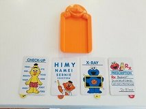 1998 Tyco Sesame Street Elmo Doctor's Kit Medical Kit Replacement Check Up Cards in Brookfield, Wisconsin