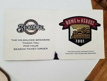 2001 Milwaukee Brewers Home to Heroes Stadium Inaugural Patch Brand New L@@K WOW in Brookfield, Wisconsin