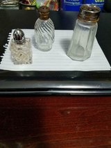 3 Vintage Glass Individual Salt or Pepper Shakers! in Bellaire, Texas