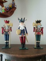 "Home Interiors / HOMCO~ 3 Tin Metal Soldiers Each Approx. 13"" Tall in Bellaire, Texas"